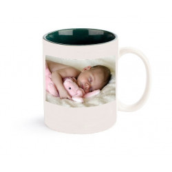 Personalised mug two tones