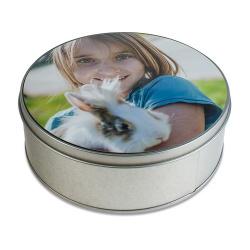 Round gift box to customise